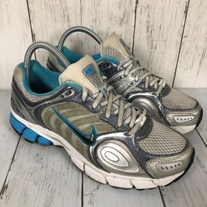 Nike Zoom Vomero 3 Grey Blue Running Shoes